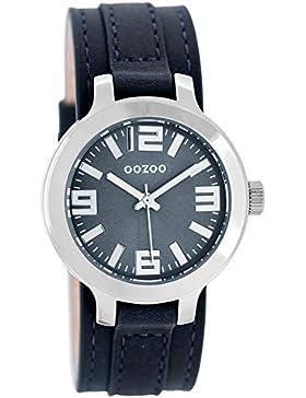 Oozoo Damen-Armbanduhr Dunkelblau 35 mm C8707