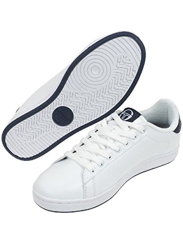 SERGIO TACCHINI Baskets Gran Torino Chaussures Homme 40 - Taille - 40 Blanc