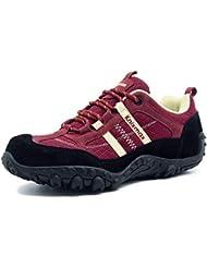Knixmax-Zapatillas de Senderismo para Mujer, Zapatillas de Montaña Trekking Trail Ligeros Cómodos y