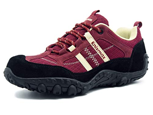 Zapatillas Trekking para Mujer, Zapatos de Senderismo Calzado Trekking Escalada Ligeros Cómodos y Transpirables...