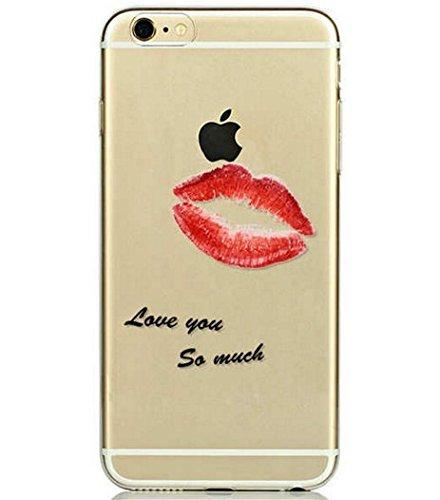 Coque RIGIDE de qualite IPHONE 5/5s - Kiss paris cat love fraise amour elephant dream drole design Swag motif 10 DESIGN case+ Film de protection OFFERT 6