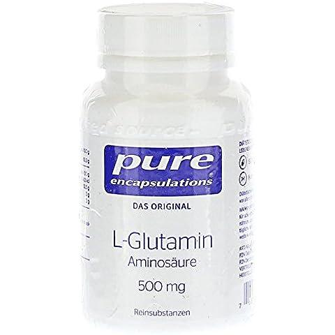 PURO ENCAPSULATIONS L-glutammina 500 mg capsule 90