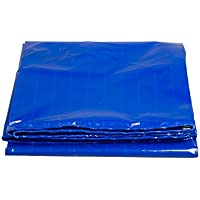 QIANGDA Toldo Lona De Protección Azul Industria Impermeable Solar Sombra Camión Cubierta Protectora Resistencia A Altas Temperaturas Anti-oxidación, Espesor 0.5mm, 430 G / M², 10 Tamaño reforzado gramaje ( Color : Azul , Tamaño : 3x4M )
