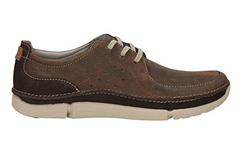 Clarks Trikeyon Fly, Chaussures À Lacets Pour Hommes Marron