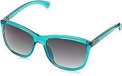 Calvin Klein Jeans Gradient Wayfarer Unisex Sunglasses - (Calvin Klein Jeans 738 418 56 S|56|Blue Color)