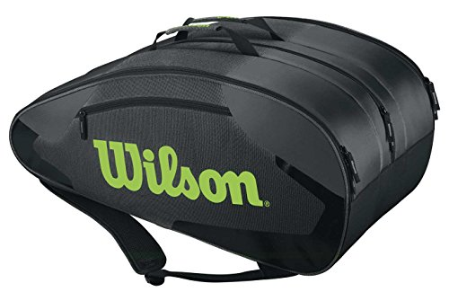 WILSON Tour Team Tennis-Tasche, grau, One Size