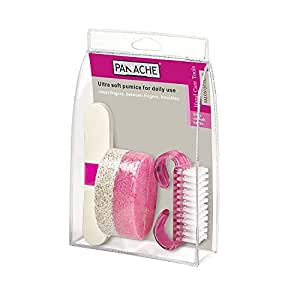 Panache Hand Care Tools For Silky Smooth Hands, Pink, 3 Piece