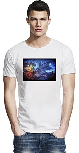Borderlands 2Captain Scarlett and Her Pirate's Booty City Raw Edge-T-Shirt X-Large