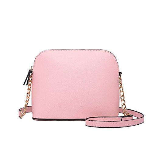 La Signora Messenger Yy.f Spalla Shell Borsa Borse A Tracolla Donna Del Design Portafogli Multicolore Pink