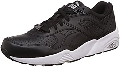 Puma Unisex Adults 360601 02 Low-Top Sneakers Black Size  3.5 UK ... 57a13a787