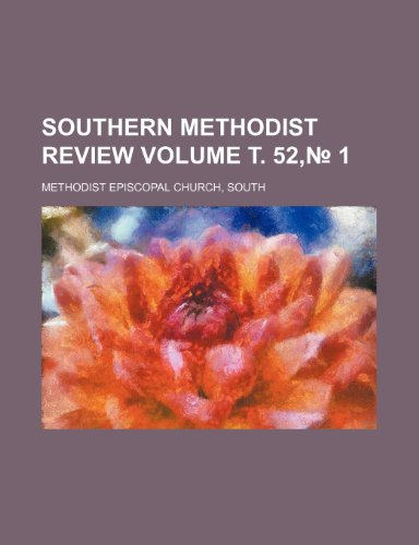 Southern Methodist review Volume . 52,No. 1