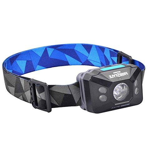 Spro Freestyle Sense Optics Black - Kopflampe zum Angeln, Angellampe zum Nachtangeln, Taschenlampe für Spinnangler, Lampe