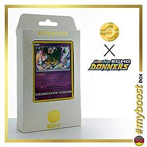 Giratina 97/214 Holo - #myboost X Sonne & Mond 8 Echo Des Donners - Box de 10 Cartas Pokémon Alemán