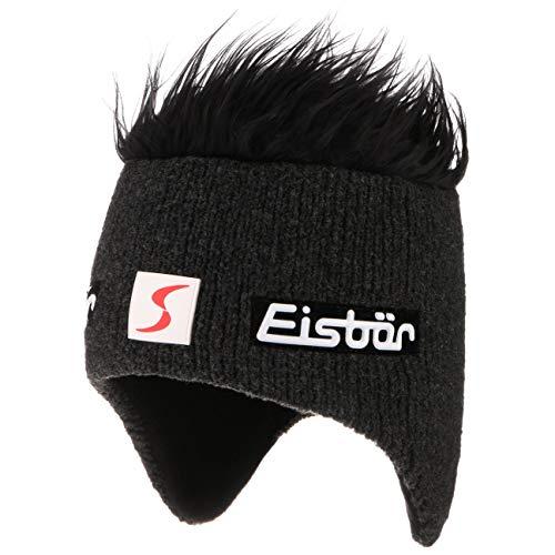 Cocker Skipool Eisbär cappelli da snowboard beanie capelli arruffati Taglia unica - nero