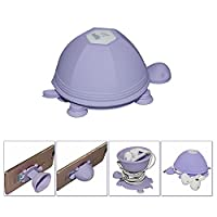 Vangold 2-in-1 Multifunctional Silicone Turtle Suction Cup Holder Mount &Earphone Cable Headphone Cord Winder Wrap for Iphone,Ipad and Cellphones Smart Phone and Tablet PC (Purple)