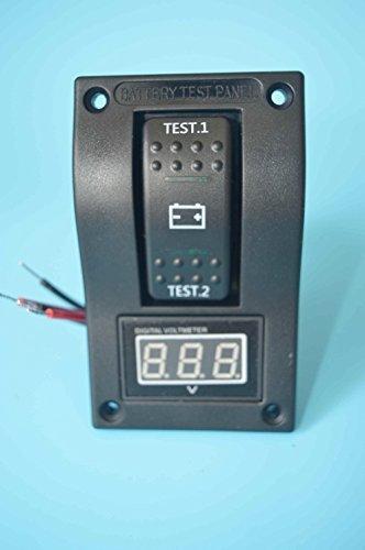 45-30V Digital Akku Voltmeter Test Panel Rocker Switch DPDT ON-OFF-ON Nockenschalter für Marine Boot Wohnmobil-pn-tv1-4von Alfa Marine (Shanghai) ()