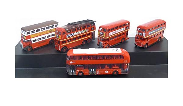 Oxford Diecast Model 1:76 Scale London Transport Twin Bus Set 76fsr003