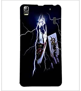 PrintDhaba Joker D-5982 Back Case Cover for LENOVO A7000 PLUS (Multi-Coloured)