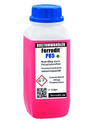 FERRODIT ® P85 1L Rostumwandler | Rostentferner | Rostschutzmittel | 1 Liter