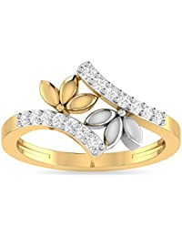 Aucent By PC Jeweller The Dorothee 22KT Yellow Gold Ring For Women