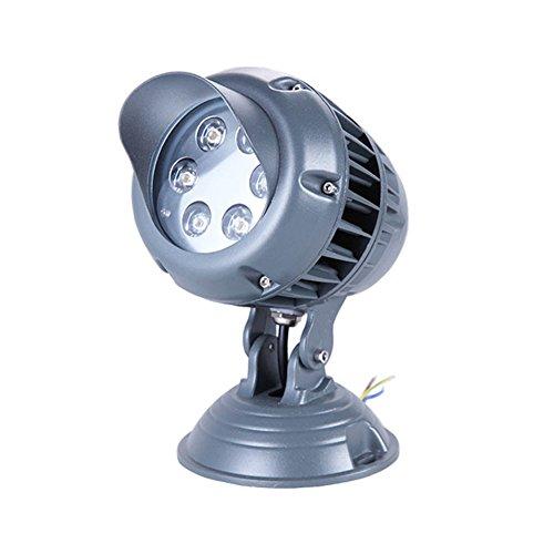 JAYLONG Flut-Licht 3W-18W LED, Wasserdichtes IP65, 1800Lm, Super Helle LED-Flut-Lichter Im Freien Für Spielplatz, Garage, Garten, Rasen Und Yard-Modell,Warm,3W (120v Flut)