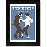 Pulp Fiction (A4enmarcado) impresión de edición limitada