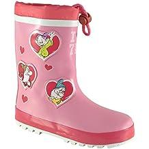 DisneyGirls Disney Seven Dwarfs - Botas de agua de trabajo chica