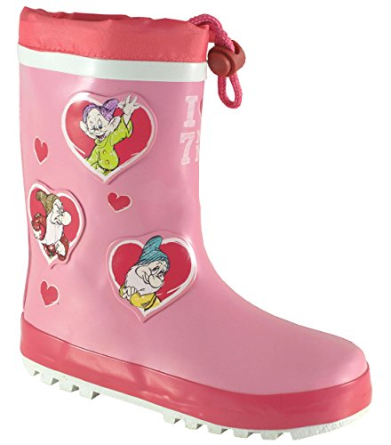 DisneyGirls Disney Seven Dwarfs - Botas de agua de trabajo chica , co