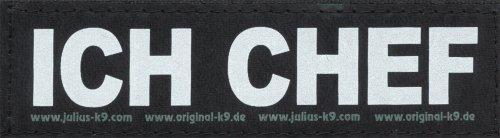 ich-chef-2xlogos-klein-weiss-reflektierend-fur-julius-k9r-logo-klettlogo-austauschlogo-k-9-powergesc