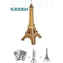 "Francia / Paris ""Torre Eiffel / TORRE EIFFEL"" rompecabezas tridimensional 3D mini (20 piezas) de venta por correo juguete interior [empresa CubicFun] (jap?n importaci?n)"
