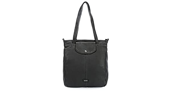 spikes & sparrow idaho shoulder bag leather grey women