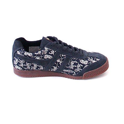 Gola, Sneaker donna Blau (charcoal/leopard) Blau (charcoal/leopard)
