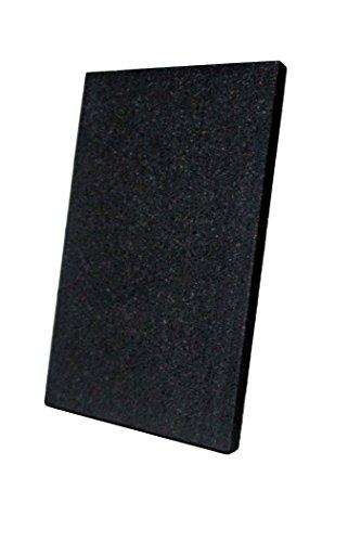 Graphit-Anode (8 x 5 cm) für Galvanik - Alternative zu Platin-Elektrode -