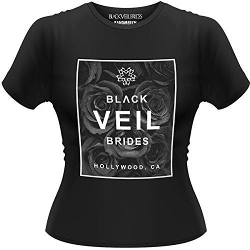Testa in plastica da uomo Black Veil Brides Black Box GTS a maniche corte maglietta nero Small