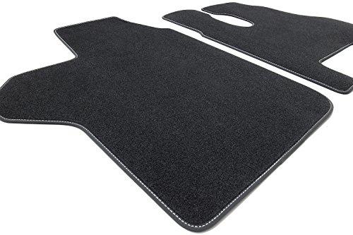 Tuning-Art KW602 LKW Fußmatten mit Bandeinfassung und Ziernähten