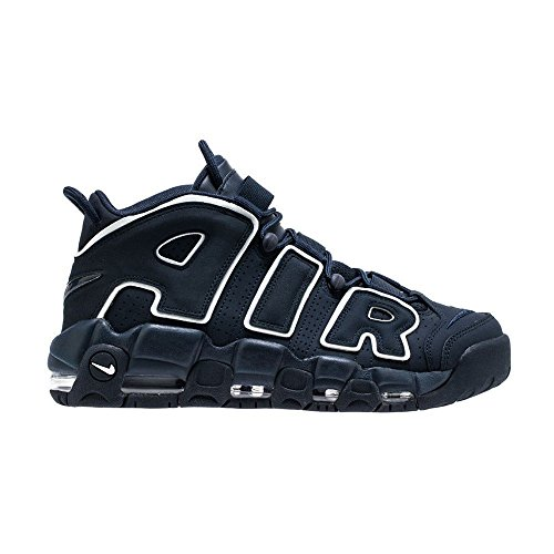 Nike Air More Uptempo '96 921948-400 (11.5 D(M) US, Obsidian/Obsidian-White)