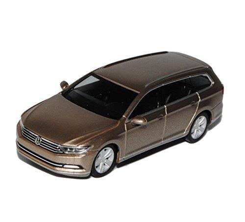 VW Volkswagen Passat B8 Variant Kombi Sand Gold Metallic Ab 2014 H0 1/87 Herpa Modell Auto