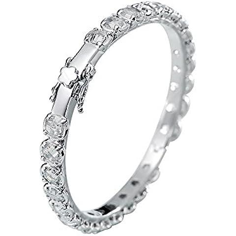 Lanfan 18k pulsera del diamante del oro