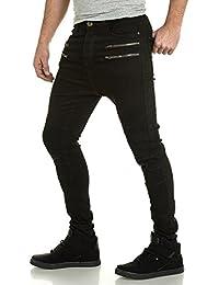 BLZ jeans - Jeans sarouel zip fantaisie