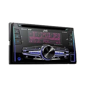 jvc kw db92bt usb cd receiver schwarz elektronik. Black Bedroom Furniture Sets. Home Design Ideas