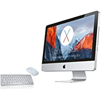 APPLE IMAC A1224 inCORE 2 DUOin 2.0 -2.4GHZ, 4GB RAM, 160GB HDD, 20in SCREEN, OS X EL CAPITAN  (Renewed)