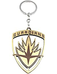 TBOP Keyring Movie Guardians Of The Galaxy Mask Pendant Around The Galactic Guards Keychain Size 7.3*4.9m In Bronze...