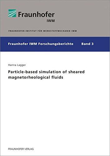 Particle-based simulation of sheared magnetorheological fluids. (Fraunhofer IWM Forschungsberichte)