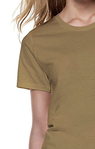 Do What Makes You Happy Life Quote Men Women Damen Herren Unisex Top T Shirt Sand(Cream)