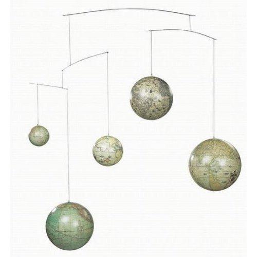 Authentic Models - Globus Mobile, Globen Mobile - fünf Weltkugeln aus fünf Jahrhunderten - GL060