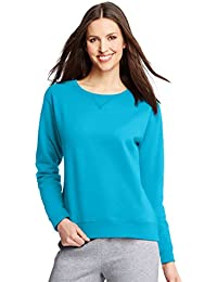 Hanes Women`s ComfortSoft EcoSmart Crewneck Sweatshirt