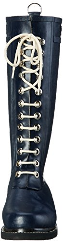 Ilse JacobsenDamen Gummistiefel hoch, RUB1 - Stivali alti di gomma Donna Blu (Blau (Dunkelindigo (660)))