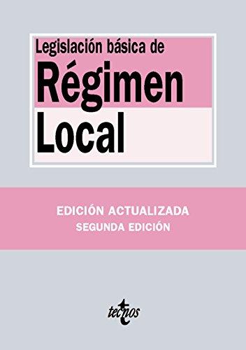 Legislación De Régimen Local (Derecho - Biblioteca De Textos Legales)