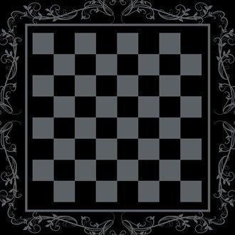 Luxus schach brett in schiefer mit wein bordüre und 4 GRATIS passend untersetzer