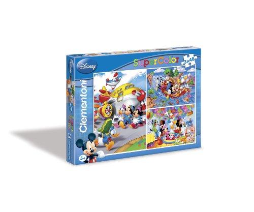 Imagen principal de Clementoni 25168.1 Mickey - Puzzles (3 unidades, 48 piezas)